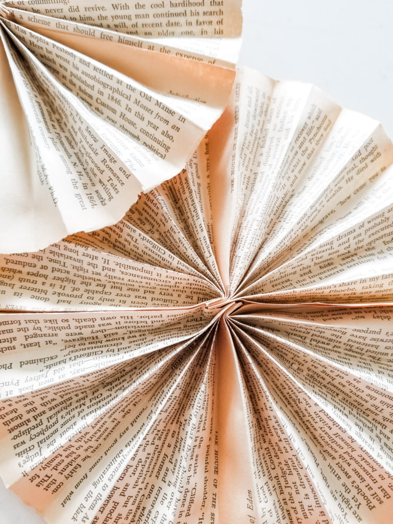 DIY pinwheel banner