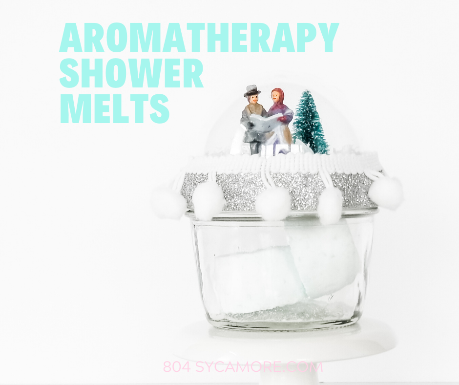 Simple aromatherapy shower melts