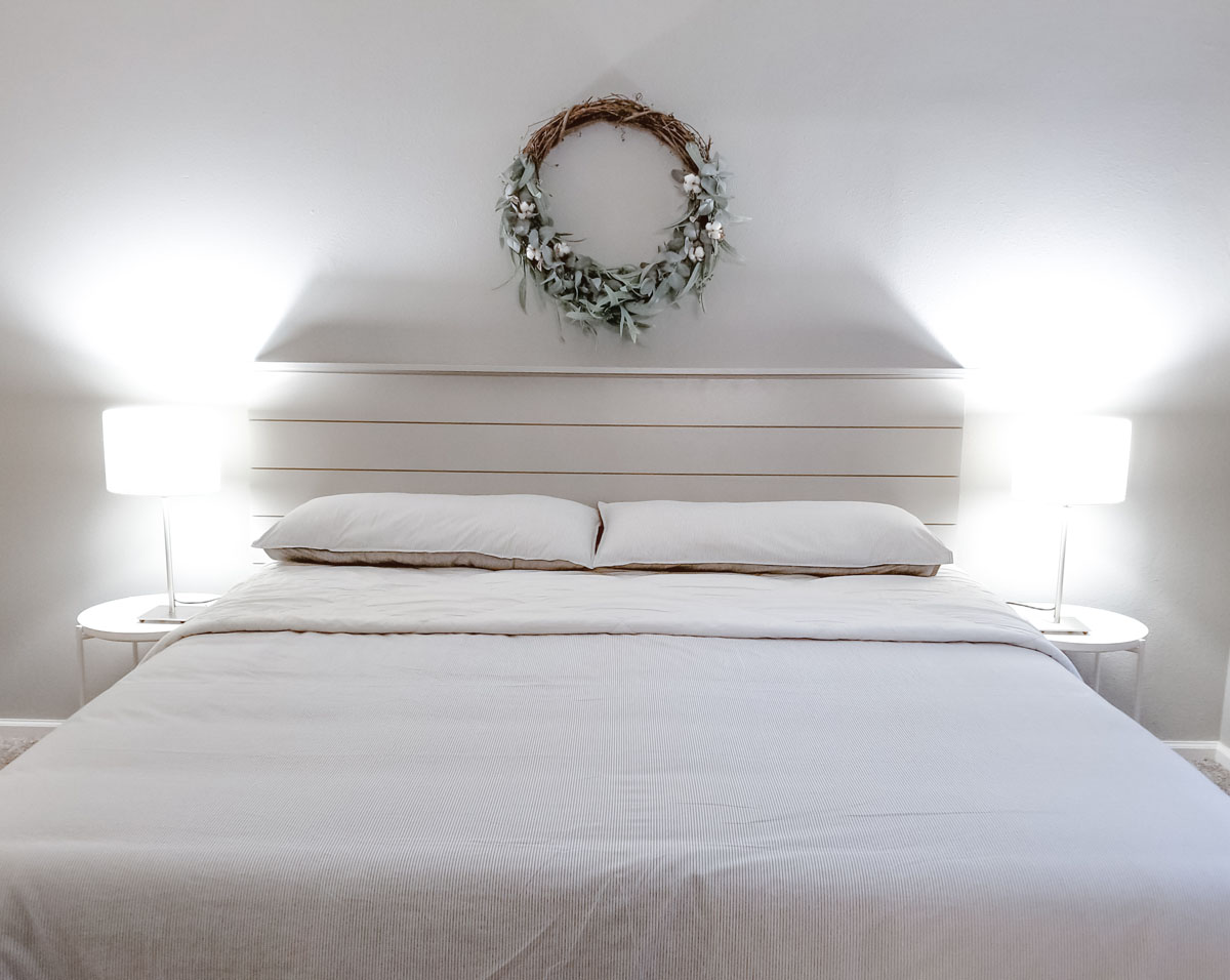 simple farmhouse bedroom makeover