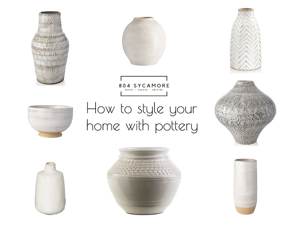 How to style your modern farmhouse with pottery