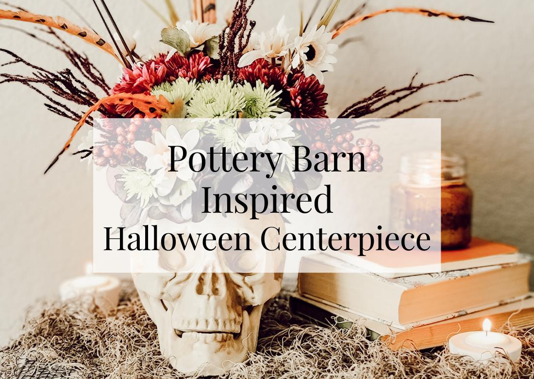 Pottery Barn Inspired Halloween Centerpiece