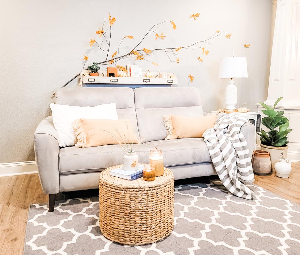 Cozy DIY Scarf Lumbar Pillows