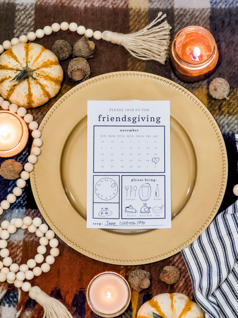 Thanksgiving decorating ideas and freebies