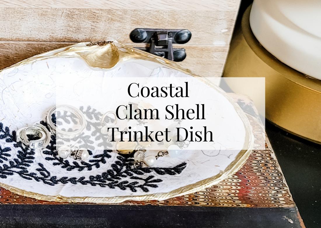 Coastal Clam Shell DIY Trinket Dish