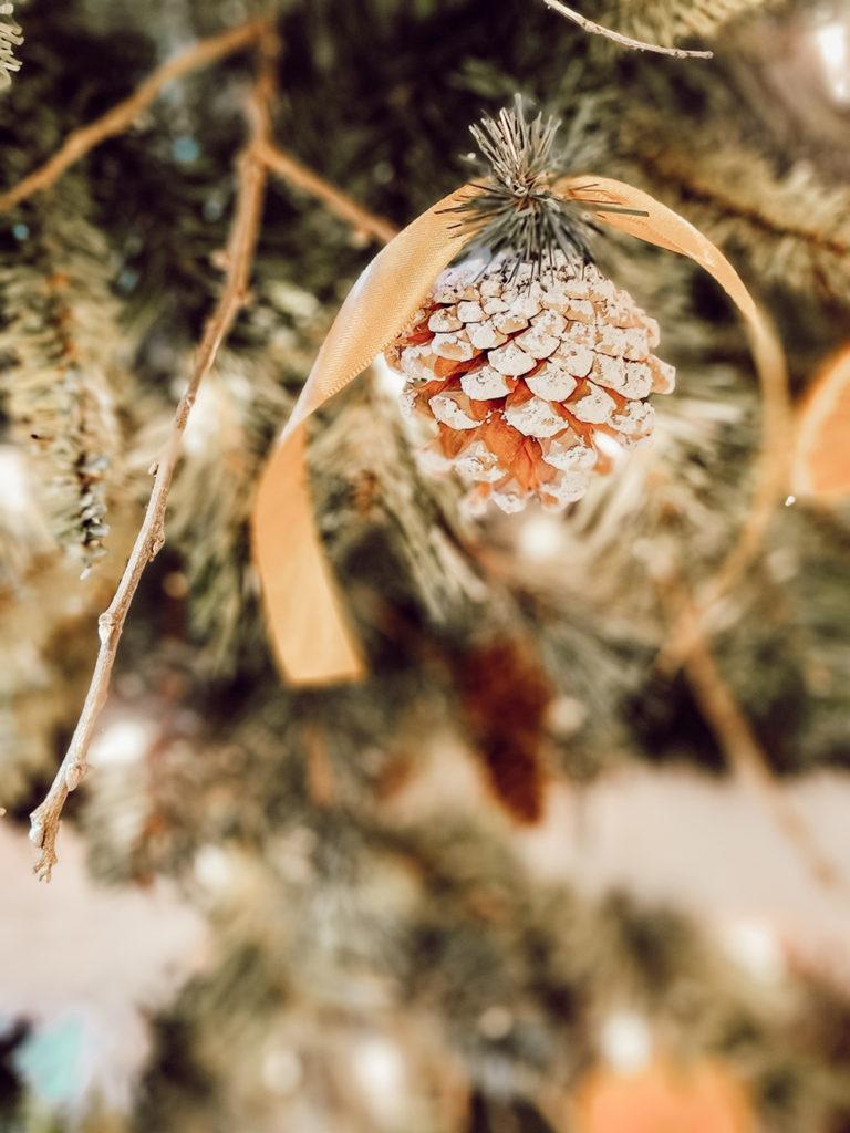 Nature Inspired Handmade Christmas Tree Ornaments