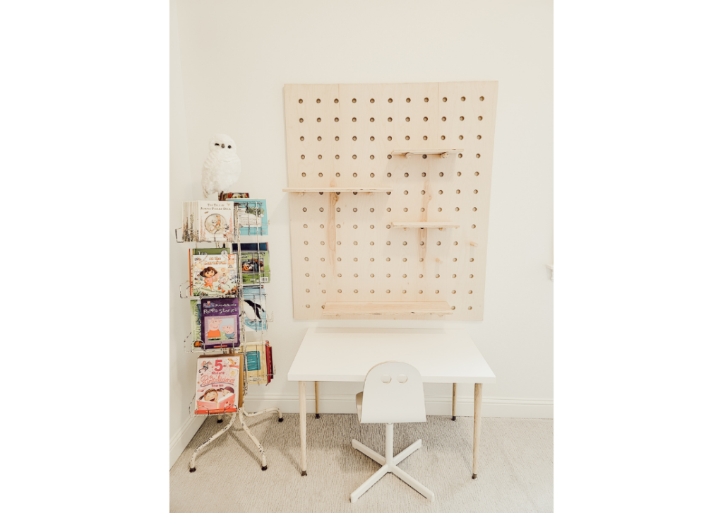 How to DIY a giant wooden pegboard
