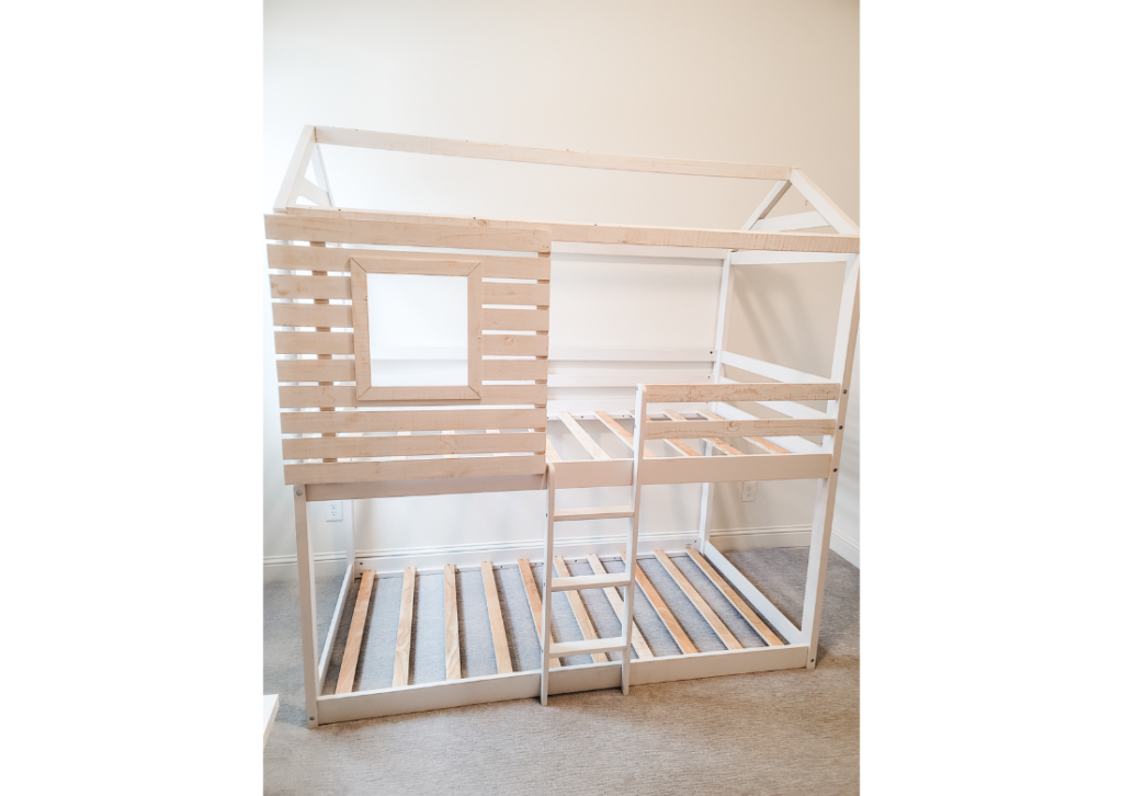 DIY farmhouse bunk bed