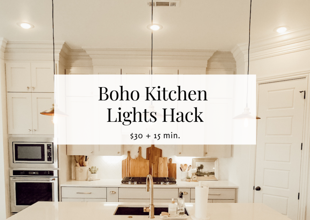 How to Hack Boho Kitchen Island Lights