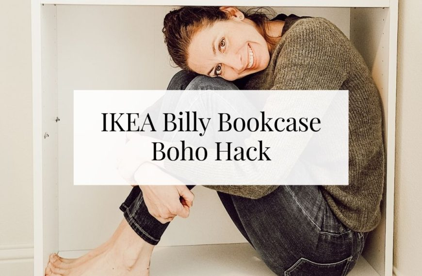 IKEA Billy Bookcase Boho Hack