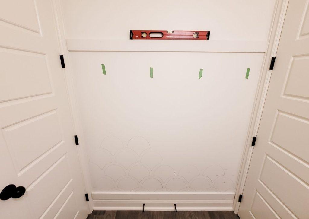 Easy DIY Board and Batten Drop Zone
