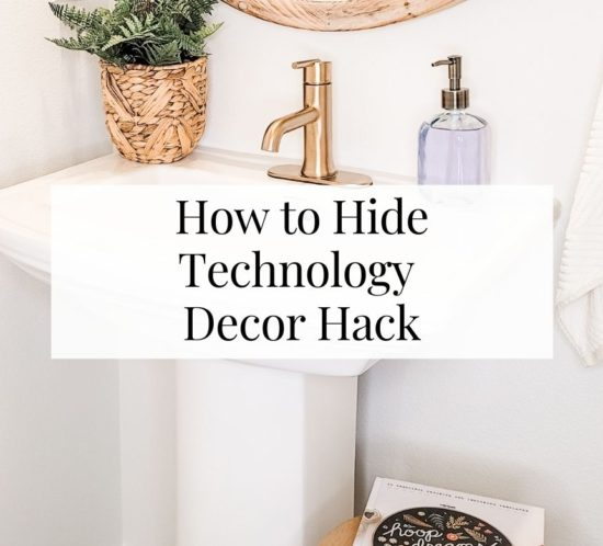 How to Hide Technology Decor Hack