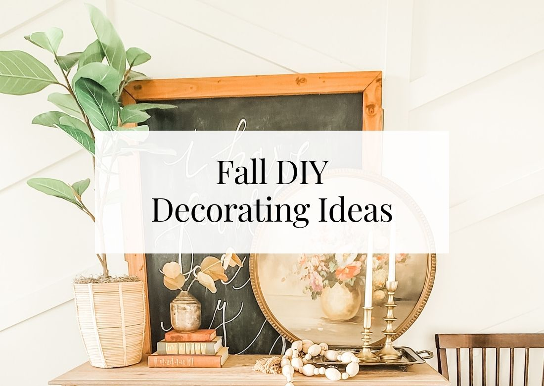 Beautiful fall DIY decorating ideas
