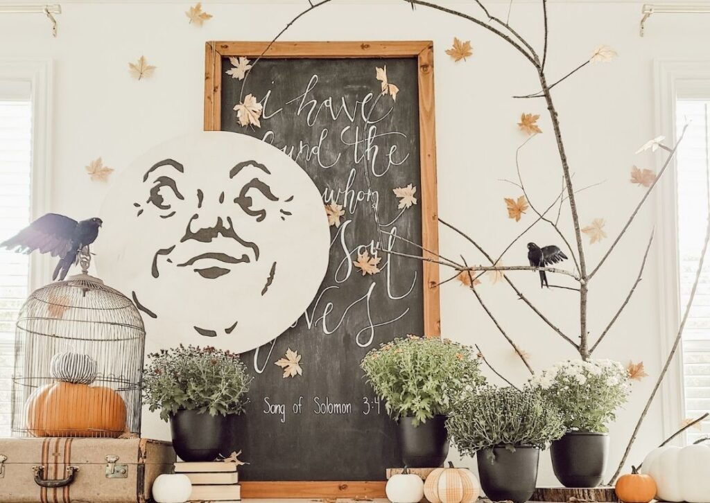 How to DIY a Vintage Man in the Moon