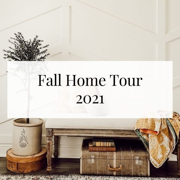 Easy Fall Decorating – Fall Home Tour 2021