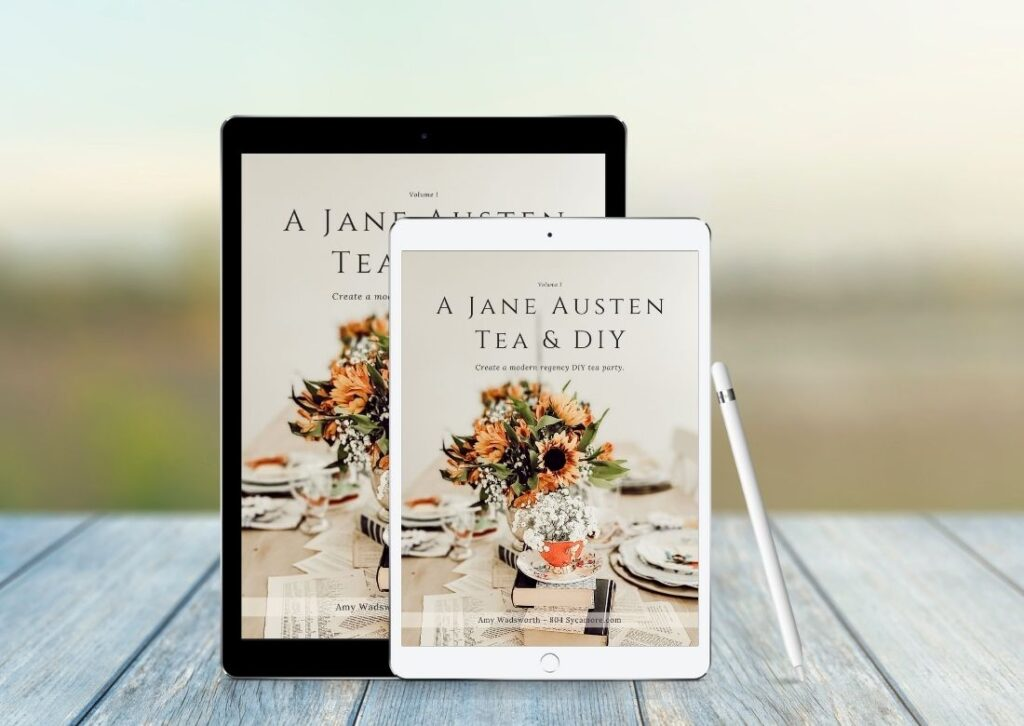 How to Create a Jane Austen Tea and DIY Party