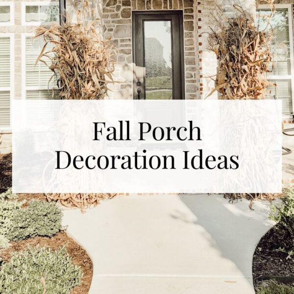 Fall porch decorating ideas and inspiration